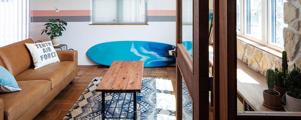 BROOKLYN × サーフィン