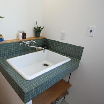 オリジナル造作洗面化粧台