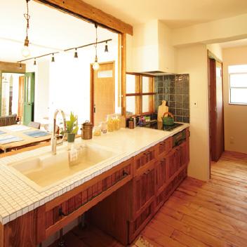 オリジナル造作キッチン