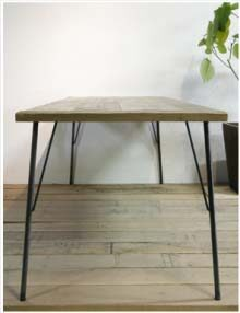 手作りテーブル
