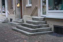 ドイツの玄関ポーチ
