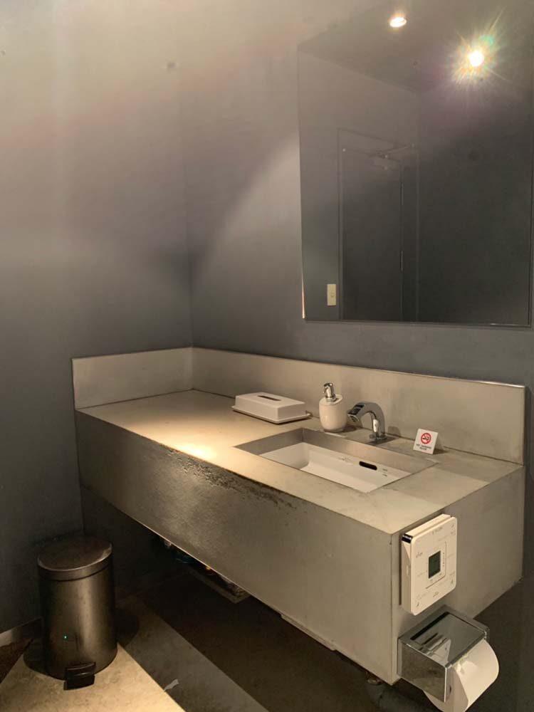モルタル洗面台