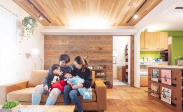 """""""好きなもの""""に満たされた、家族みんなが心地良い家。"""
