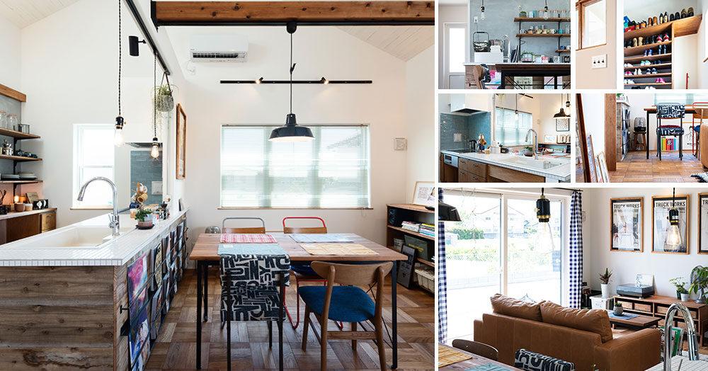 前橋市総社町大きな勾配天井が心地よい平屋のお家