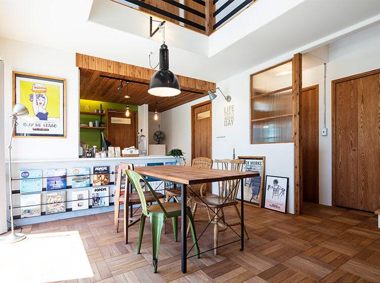 太田市新田多村期間限定モデルハウス『BROOKLYN STYLEの家』