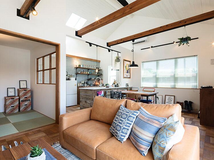 前橋市総社町期間限定モデルハウス『Brooklyn FLATの家』