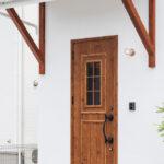 かわいい玄関ドア