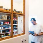 靴の収納部屋