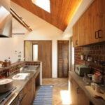 キッチンの天窓