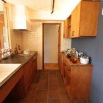 キッチンの造作棚