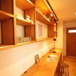 飾り棚 可動収納
