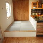 小上りの和室スペース