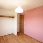 子供室オープン天棚収納
