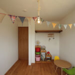 子供部屋のかわいい収納