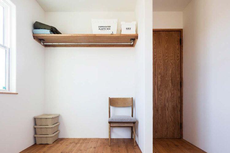 子供部屋の収納には扉をつけないという選択
