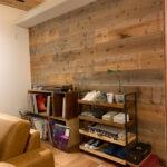 木製の収納棚