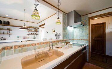 【かわいい♪】おすすめのキッチン・洗面所のデザイン事例