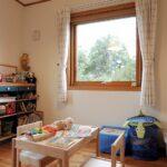 子供部屋の窓