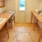 造作シンプルキッチン