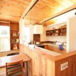 木のぬくもりあるキッチン