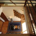 2階から1階を見下ろす