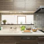 木目調のキッチン