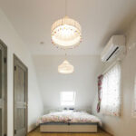 寝室のペンダント照明