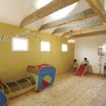 子供室のパインフロア