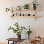 シンプル造作棚