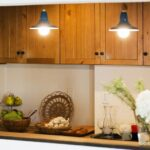 キッチンのかわいい照明