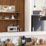 キッチン飾り棚